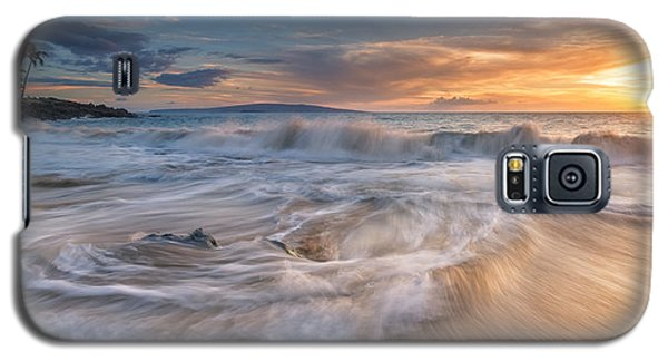 Galaxy S5 Case featuring the photograph Ulua Beach Sundown by Hawaii  Fine Art Photography