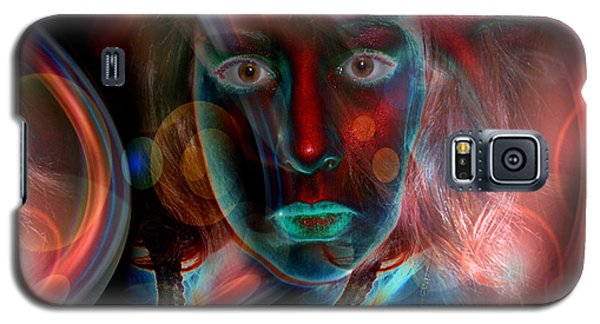 Galaxy S5 Case featuring the digital art Umbilical Connection To A Dream  by Otto Rapp