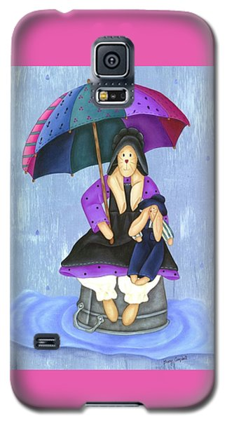 Umbrella Bunny Galaxy S5 Case