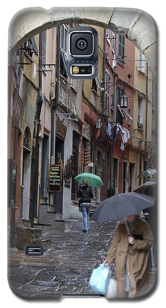 Umbrella Day Portovenere Italy Galaxy S5 Case