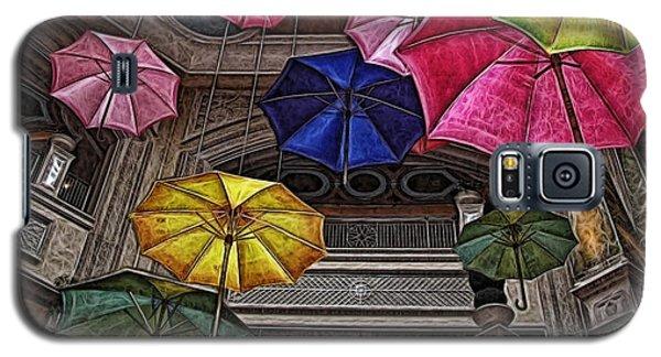 Umbrella Fun Galaxy S5 Case by Joan  Minchak
