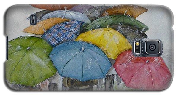 Umbrella Huddle Galaxy S5 Case