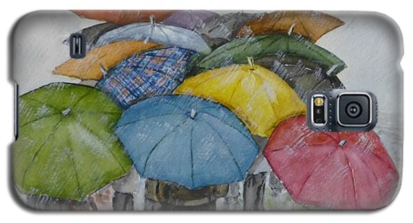 Umbrella Huddle Galaxy S5 Case