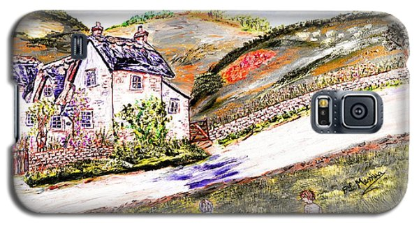 Galaxy S5 Case featuring the painting An Afternoon In June by Loredana Messina