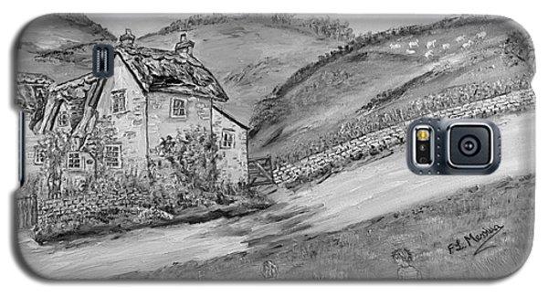 Galaxy S5 Case featuring the painting Un Pomeriggio D'estate by Loredana Messina