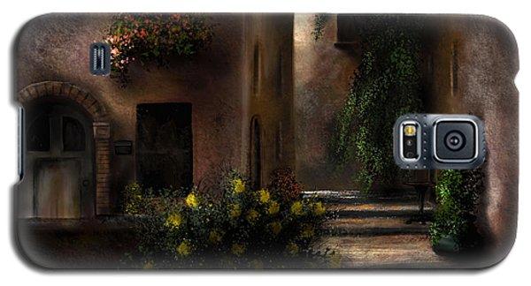 Una Notte Tranquilla - A Quiet Night Galaxy S5 Case by Ron Grafe