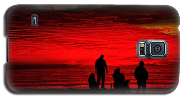 Galaxy S5 Case featuring the photograph Unbelieveable Sunset by Joseph Hollingsworth