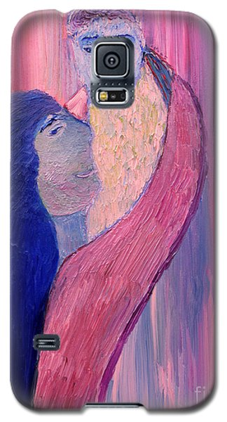 Galaxy S5 Case featuring the painting Unbreakable Bond by Vadim Levin
