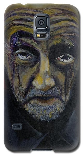 Galaxy S5 Case featuring the painting Uncle Only's Farewell by Eric Dee