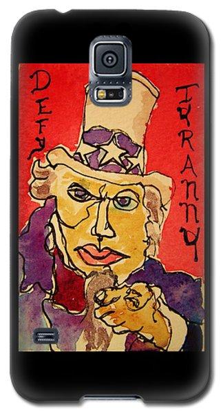 Uncle Sam Defy Tyranny Galaxy S5 Case