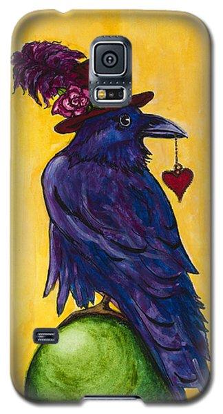 Uncommon Raven Love 1 Galaxy S5 Case