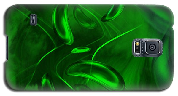 Galaxy S5 Case featuring the digital art Unconditional Love - Abstract Art By Giada Rossi by Giada Rossi