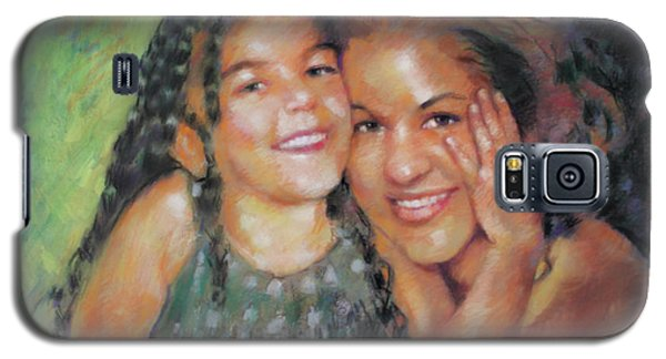 Galaxy S5 Case featuring the drawing Unconditional Love by Viola El