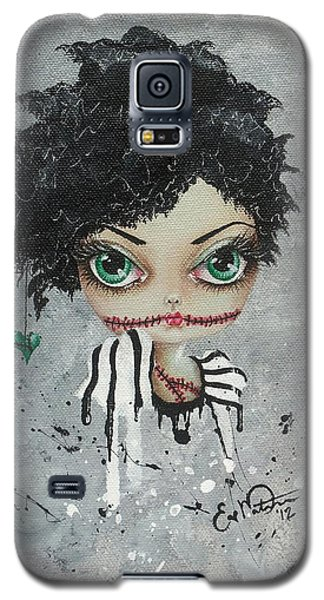 Undead Beauty Queen Galaxy S5 Case by Oddball Art Co by Lizzy Love