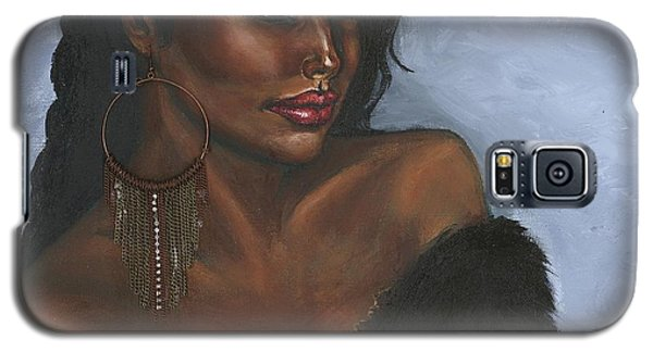 Galaxy S5 Case featuring the painting Undeniable by Alga Washington
