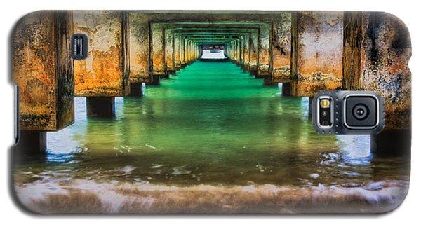 Under Hanalei Pier Galaxy S5 Case