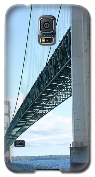Under Mighty Mac Lake Michigan Galaxy S5 Case by Bill Woodstock