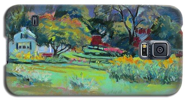 Under Mountain Farm In Summer Galaxy S5 Case
