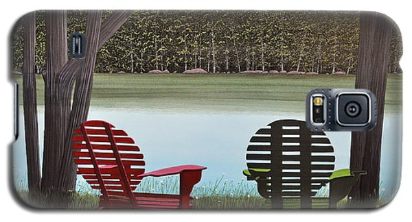 Under Muskoka Trees Galaxy S5 Case