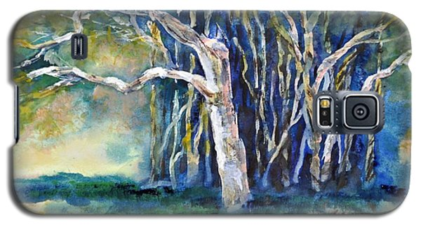 Under The Banyan Tree Galaxy S5 Case by Sally Simon