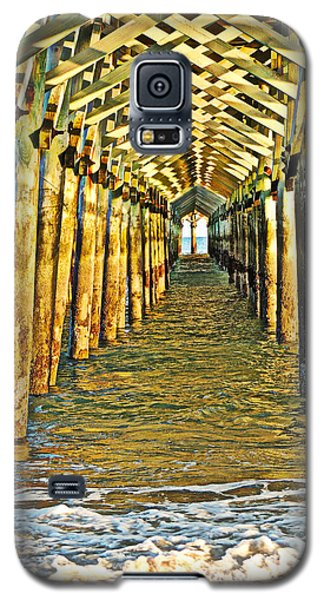 Under The Boardwalk - Hdr Galaxy S5 Case by Eve Spring