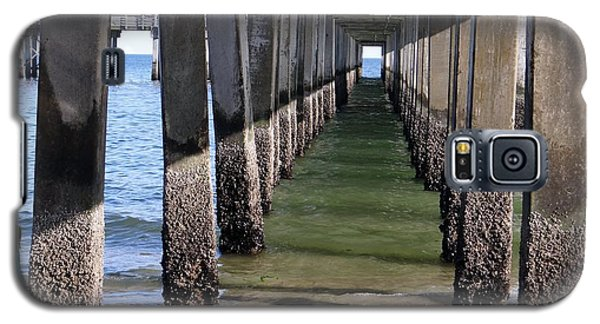Galaxy S5 Case featuring the photograph Under The Boardwalk by Ed Weidman