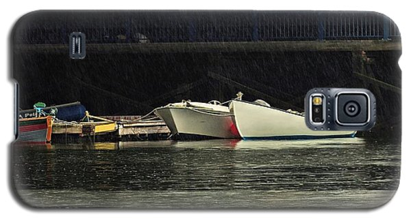 Galaxy S5 Case featuring the photograph Under The Bridge by Laura Ragland