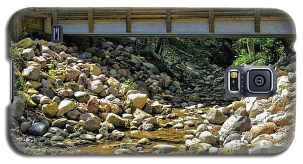 Galaxy S5 Case featuring the photograph Under The Bridge by Nikki McInnes