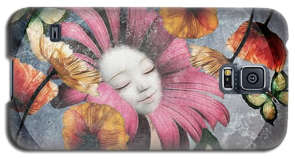 Galaxy S5 Case featuring the digital art Under The Bubblemoon by Barbara Orenya