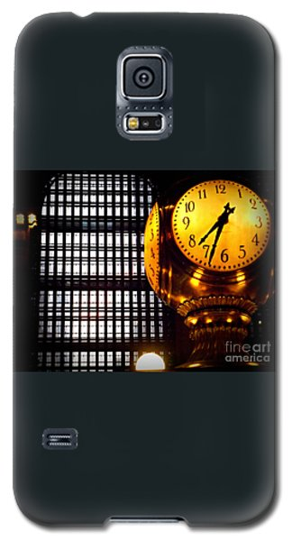 Under The Famous Clock Galaxy S5 Case by Miriam Danar
