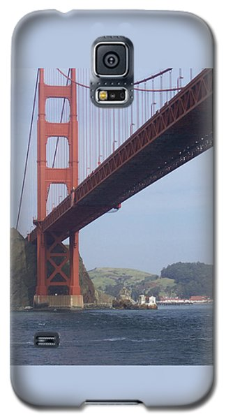 Under The Golden Gate - San Francisco Golden Gate Bridge 2006 - Scenic Photography - Ai P. Nilson Galaxy S5 Case