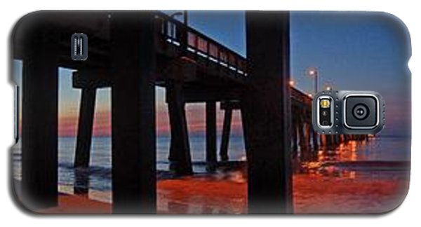 Under The Gulf State Pier  Galaxy S5 Case by Michael Thomas