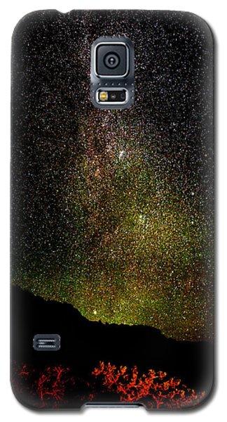Under The Milky Way Galaxy S5 Case