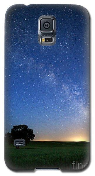 Under The Milkyway Galaxy S5 Case