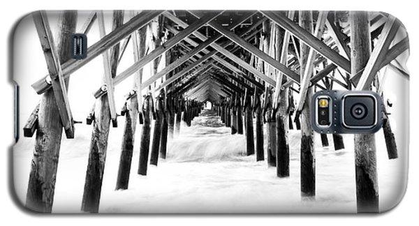 Under The Pier Folly Beach Galaxy S5 Case