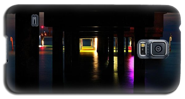 Galaxy S5 Case featuring the photograph Under The Pier by Richard Zentner