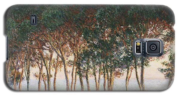 Under The Pines. Evening Galaxy S5 Case by Claude Monet
