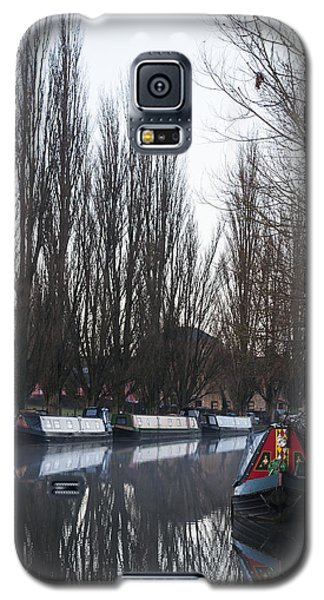 Galaxy S5 Case featuring the photograph Under The Poplars by David Isaacson