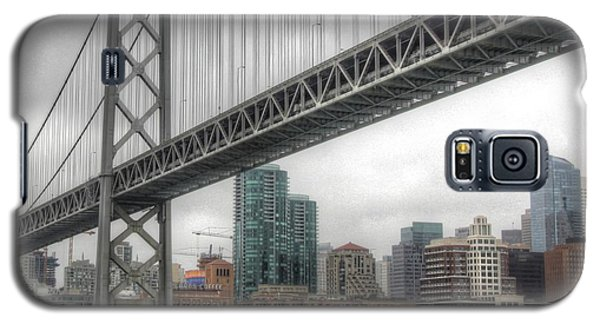 Under The San Francisco Bay Bridge Galaxy S5 Case