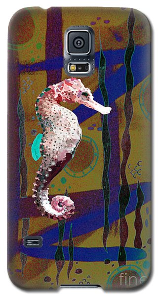 Galaxy S5 Case featuring the mixed media Under The Sea2 by Megan Dirsa-DuBois