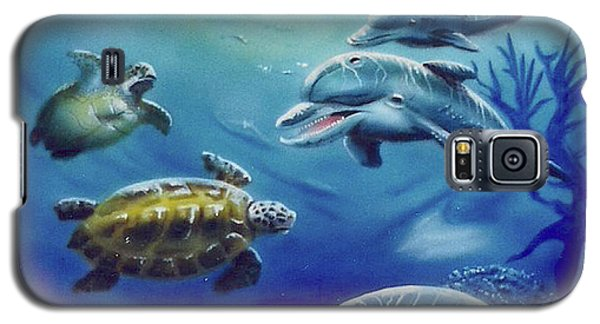 Under Water Antics Galaxy S5 Case