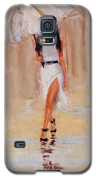 Undercover Galaxy S5 Case by Laura Lee Zanghetti