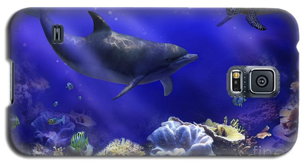 Underwater Encounter Galaxy S5 Case