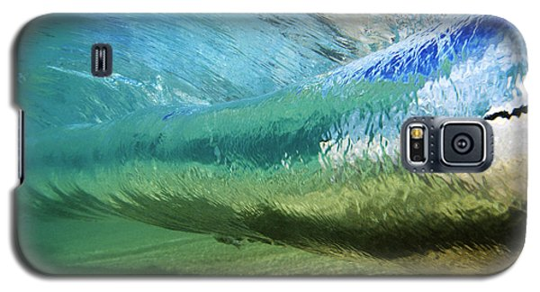 Underwater Wave Curl Galaxy S5 Case by Vince Cavataio - Printscapes
