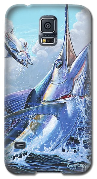 Sharks Galaxy S5 Case - Unexpected Off0093 by Carey Chen