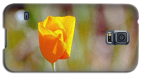 Unfolding Poppy Galaxy S5 Case
