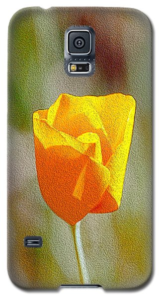 Unfolding Poppy Galaxy S5 Case by William Havle