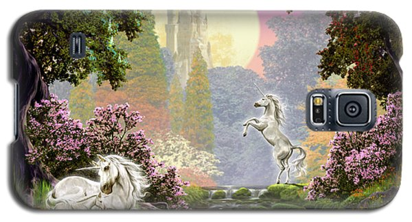 Unicorn New Born Galaxy S5 Case by Garry Walton