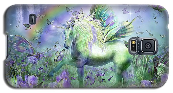 Unicorn Of The Butterflies Galaxy S5 Case