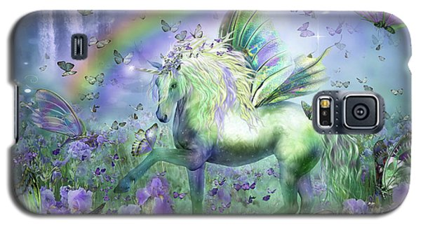 Unicorn Of The Butterflies Galaxy S5 Case